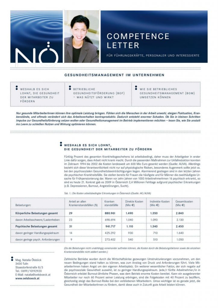 Competence Letter